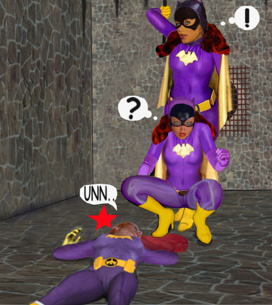 Find BatGirl and Win a Prize