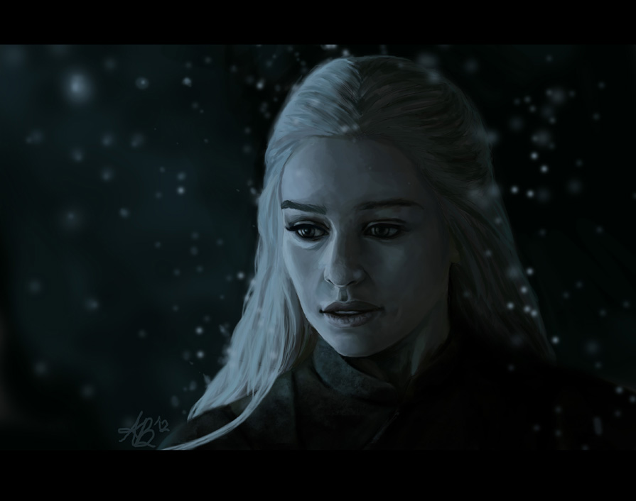 Daenerys In Winter
