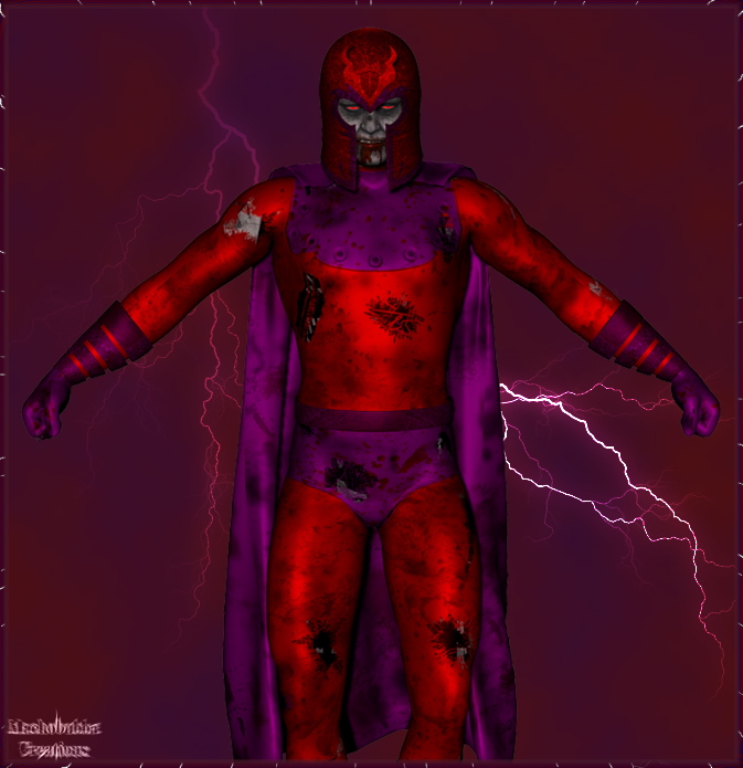 Zombiefied Magneto... The Reboot!