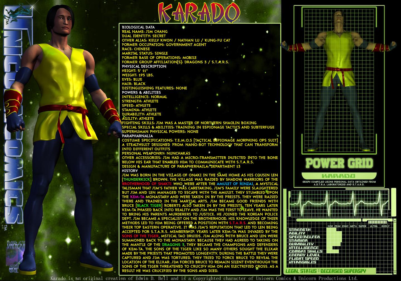 Unicorn 30 in 30-Day Three - Karado