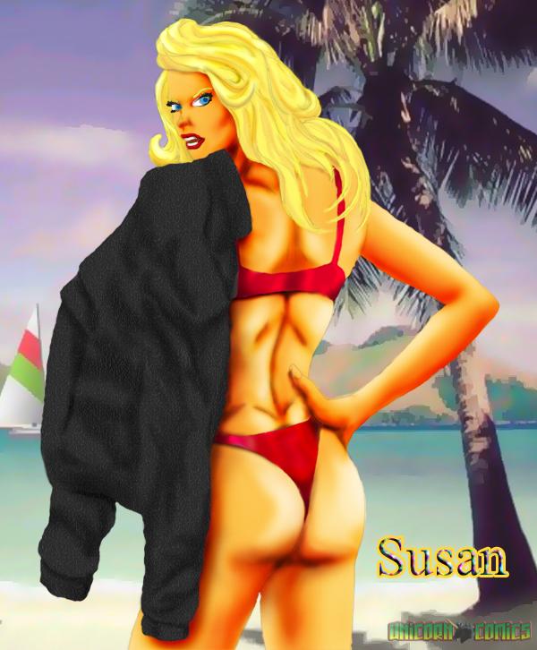 Susan in bikini