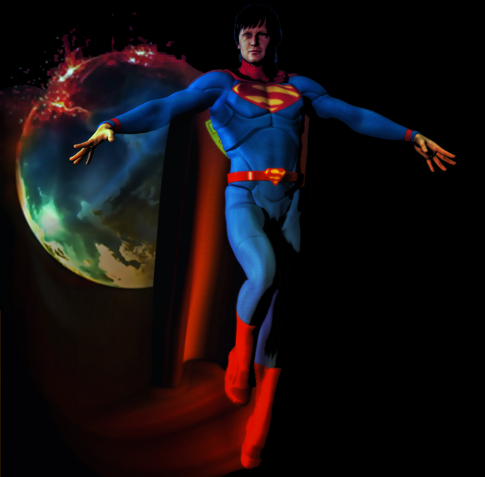 Superman the end of the earth