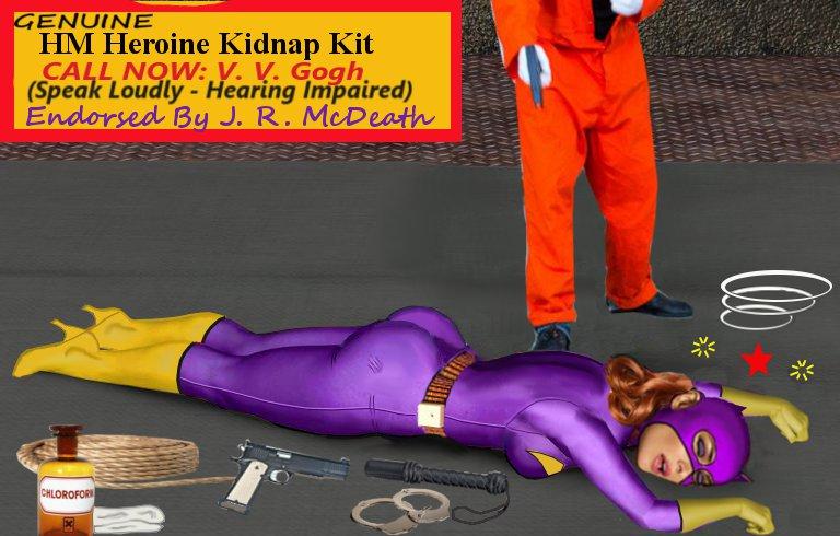 HeroMorph Kidnap Kit
