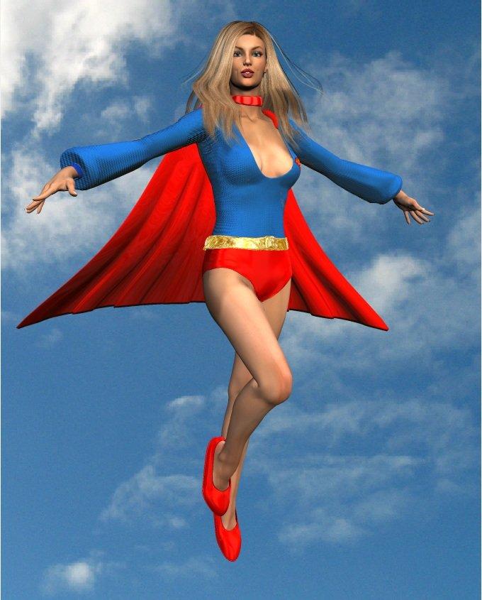 1970's supergirl
