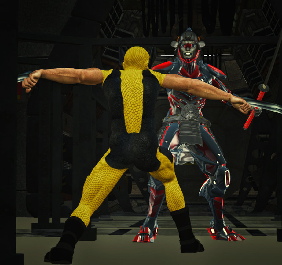 Wolverine vs SilverSamurai