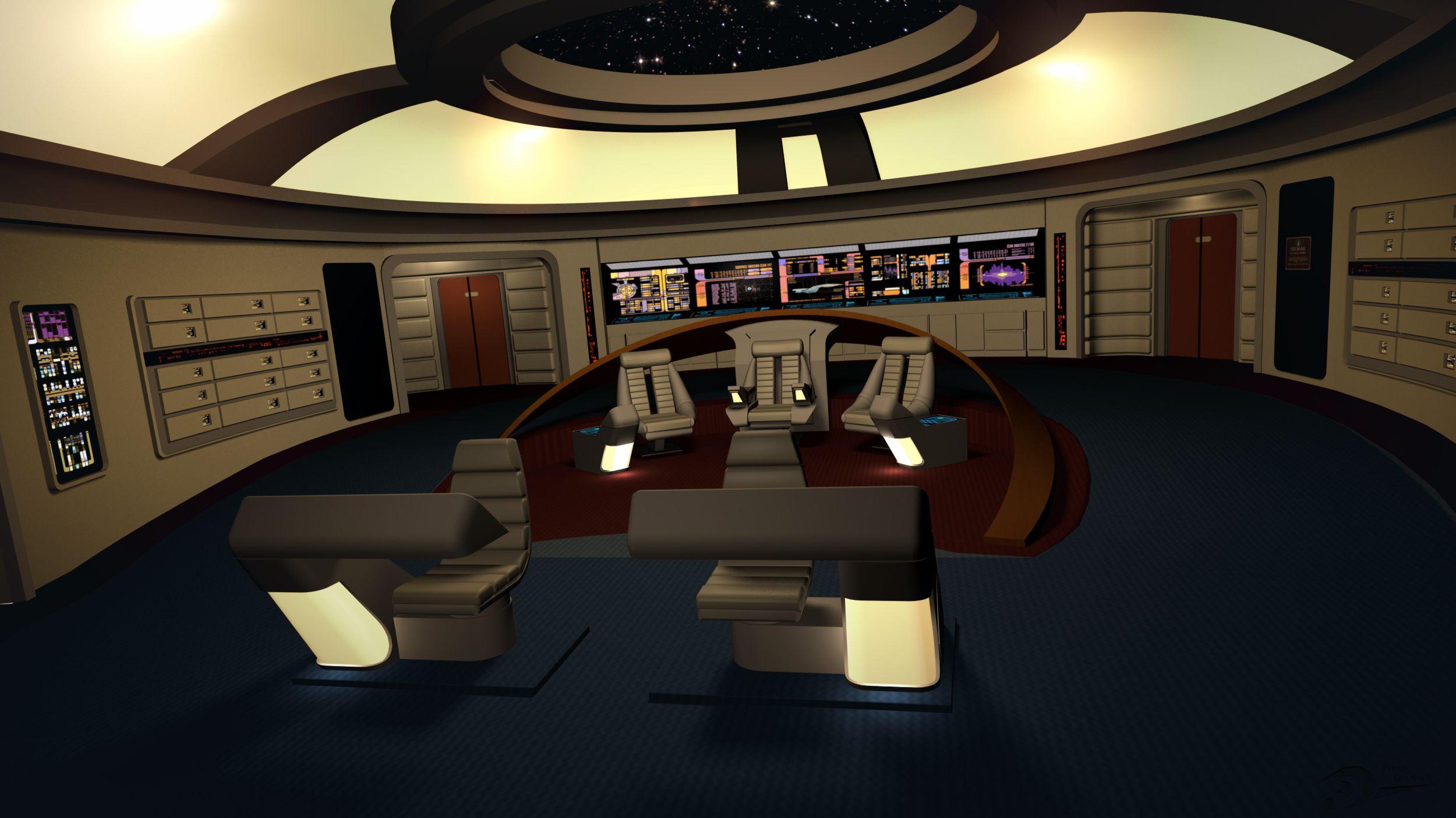 Enterprise-D Bridge