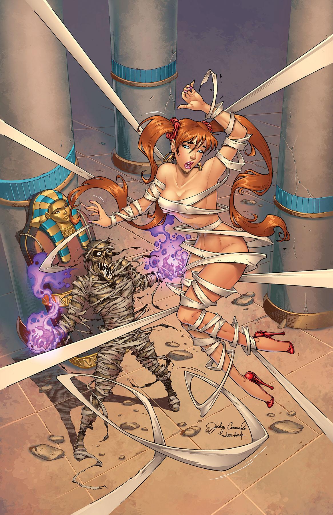 BANZAI GIRL VS. THE MUMMY! (Final) by Jinky Coronado