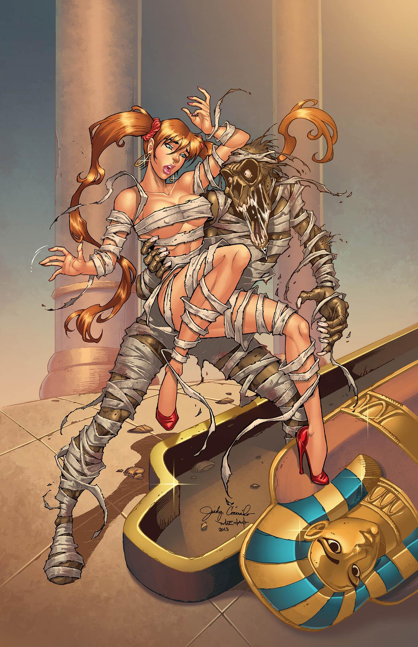 BANZAI GIRL: THE MUMMY RETURNS! (Final color) by Jinky Coronado