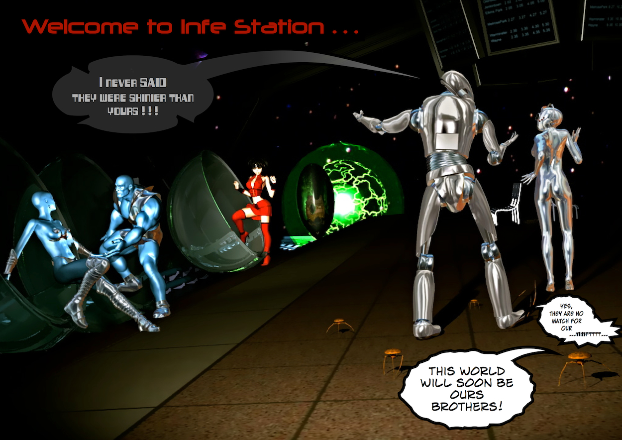 Welcome to Infe Station