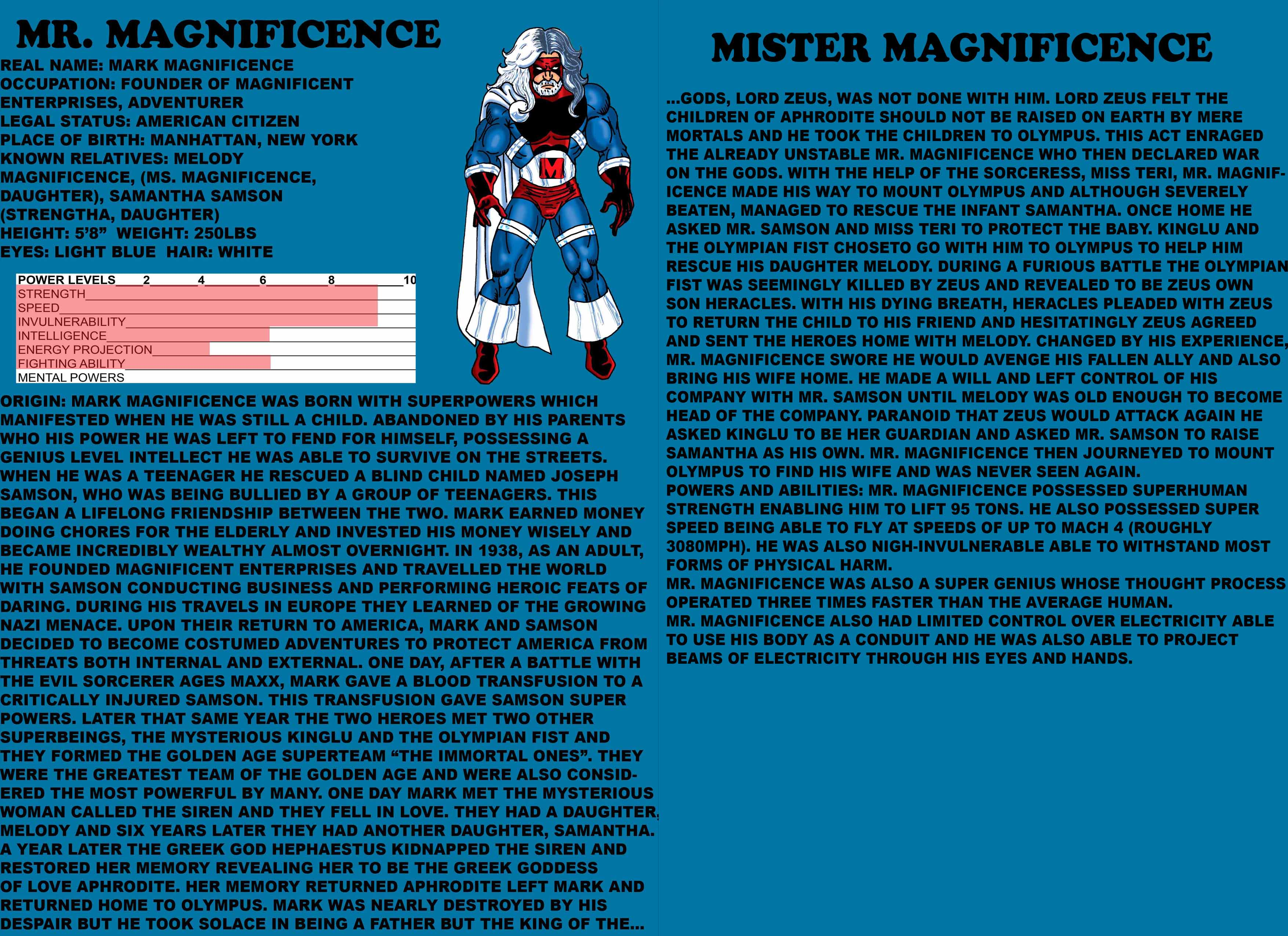 Golden Age: Mister Magnificence