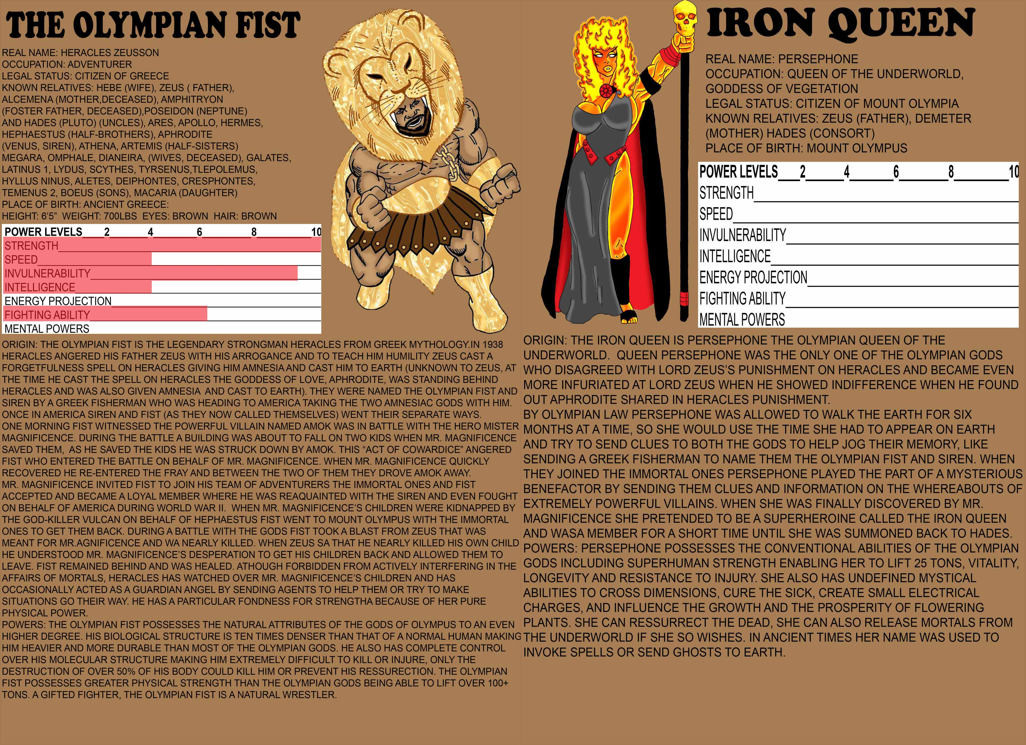 The Olympian Fist / The Iron Queen