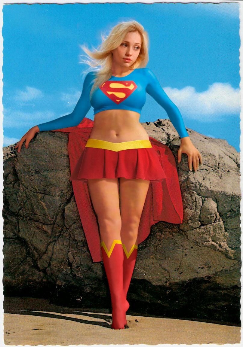 Supergirl (crop top)