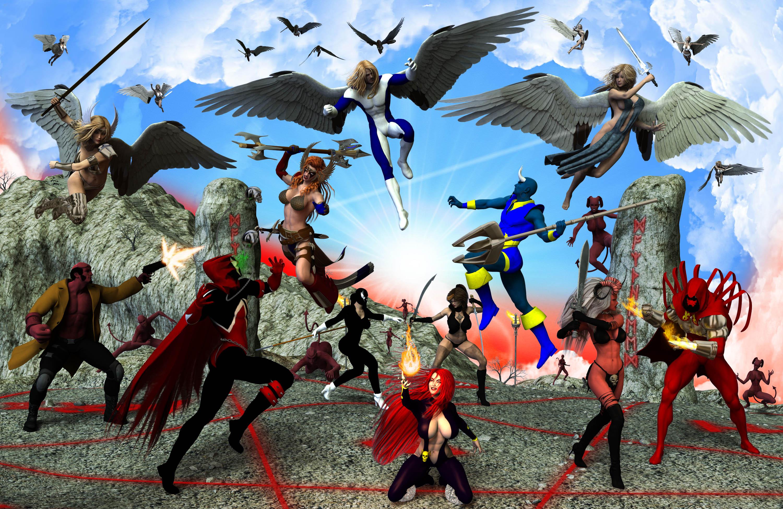 Epic Smackdown: Good VS. Evil  ??
