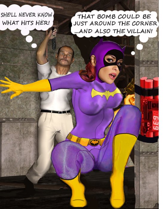 BatGirl Defuses the Bomb...