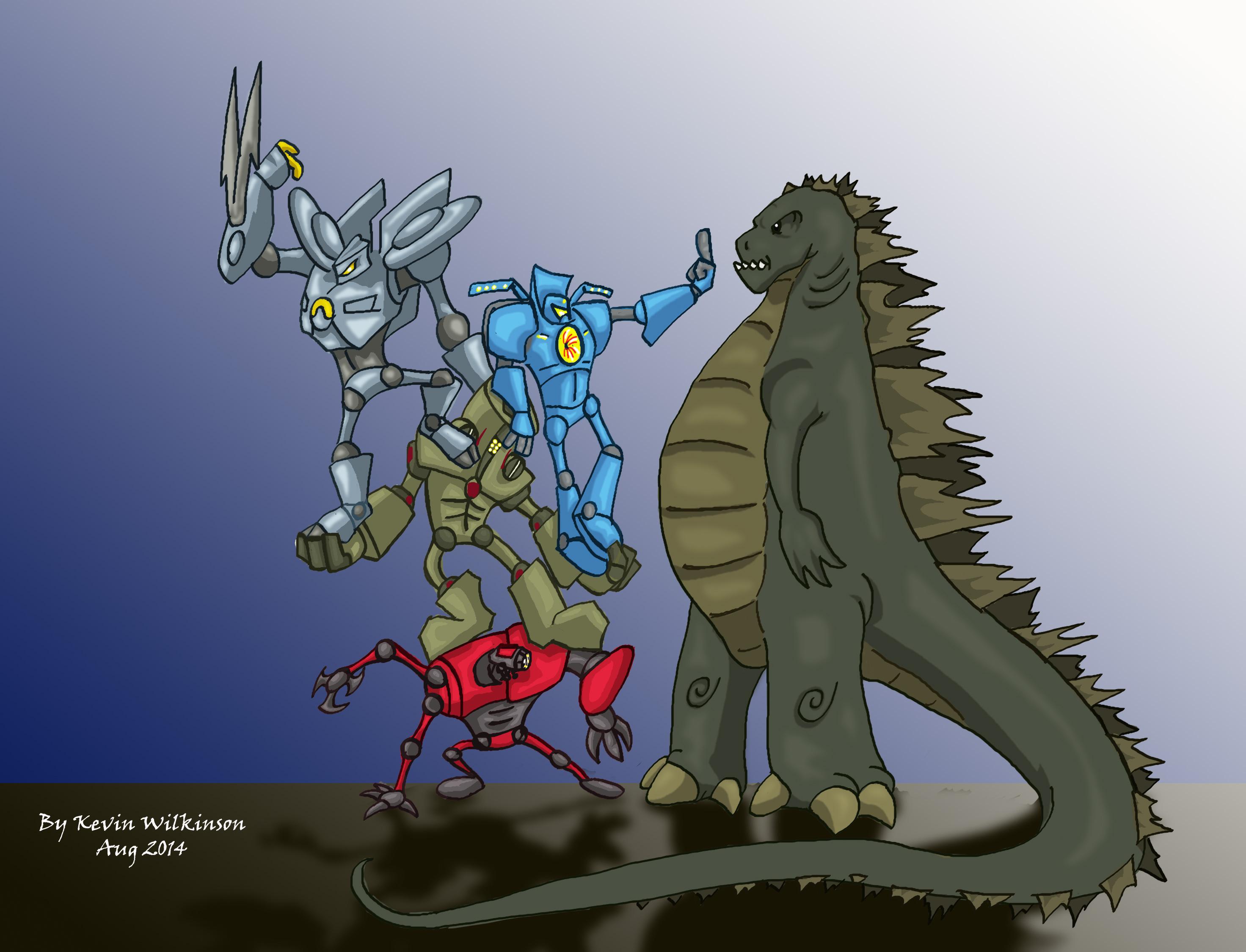 Pacific Rim Meets Godzilla