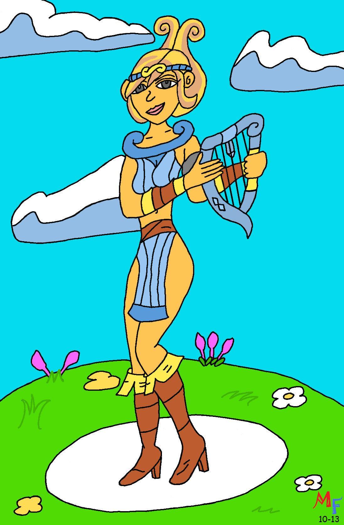 Lyra from HarmoKnight