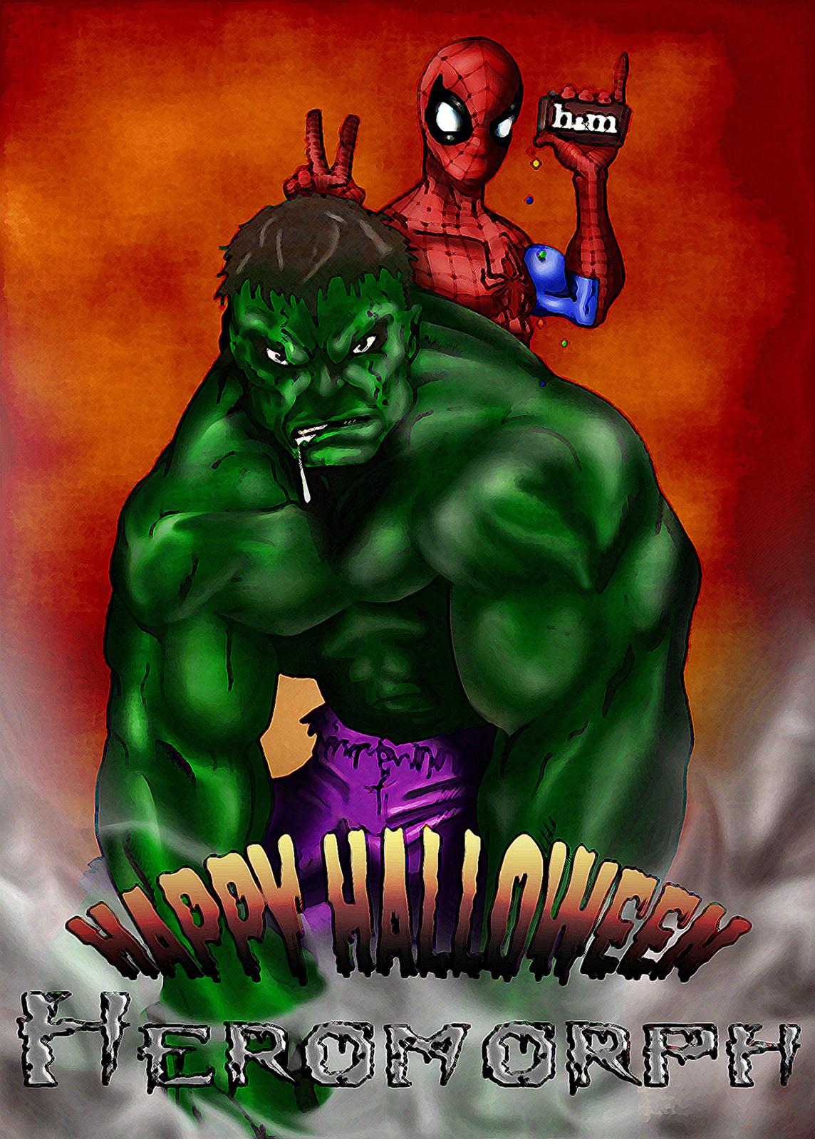 Hulk and Spidey