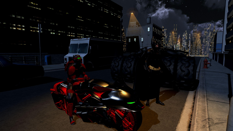Batman Panterra Crossover