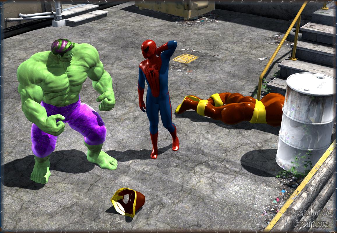 Tin Man Hurt BugBoy, Hulk Hurt Tin Man...