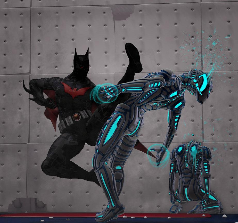 Batman beyond in action