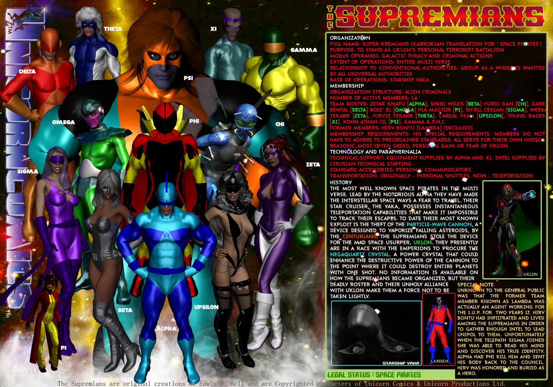 Unicorn Comics 30 for 30 [2014] - Day Twelve: The Supremians