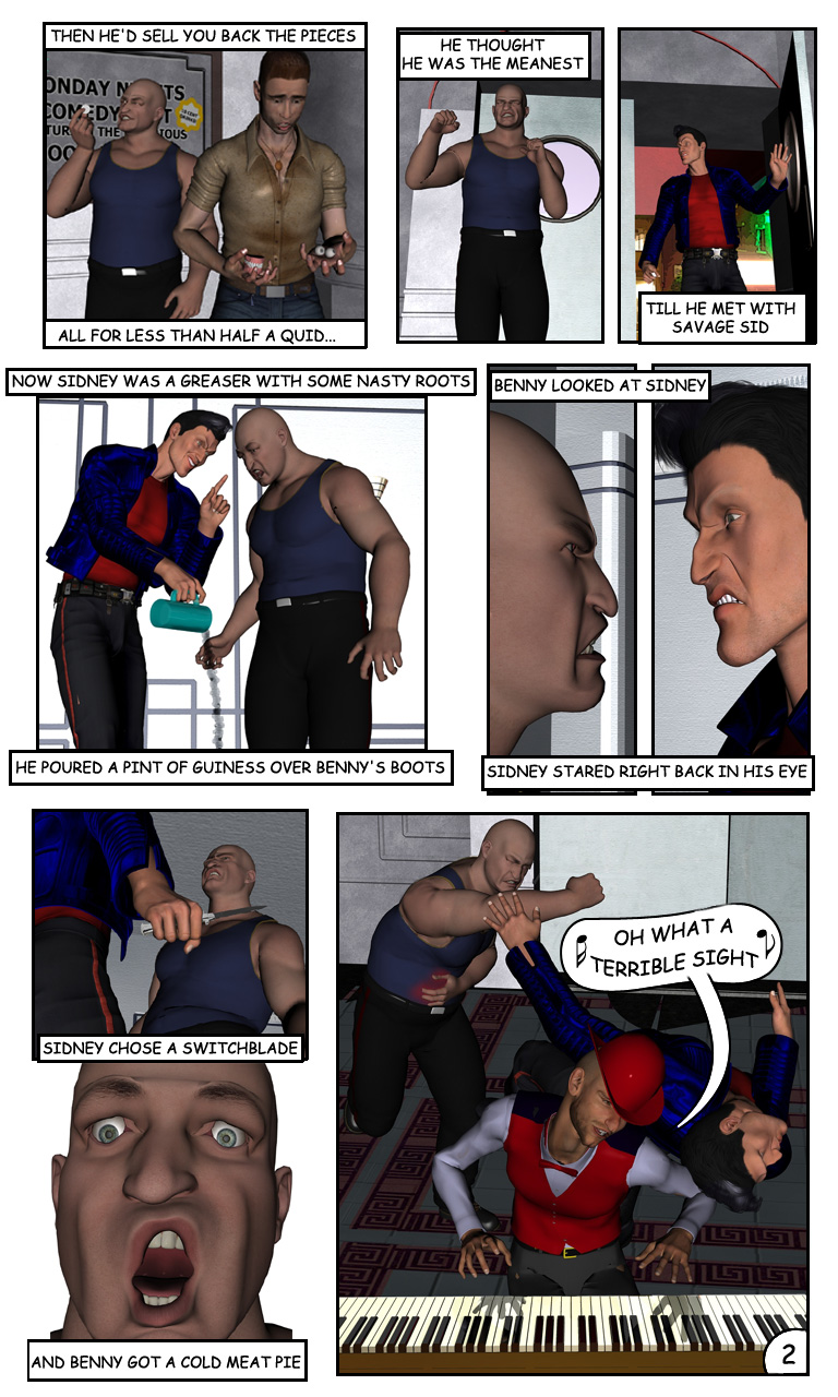 Benny the Bouncer - page 2