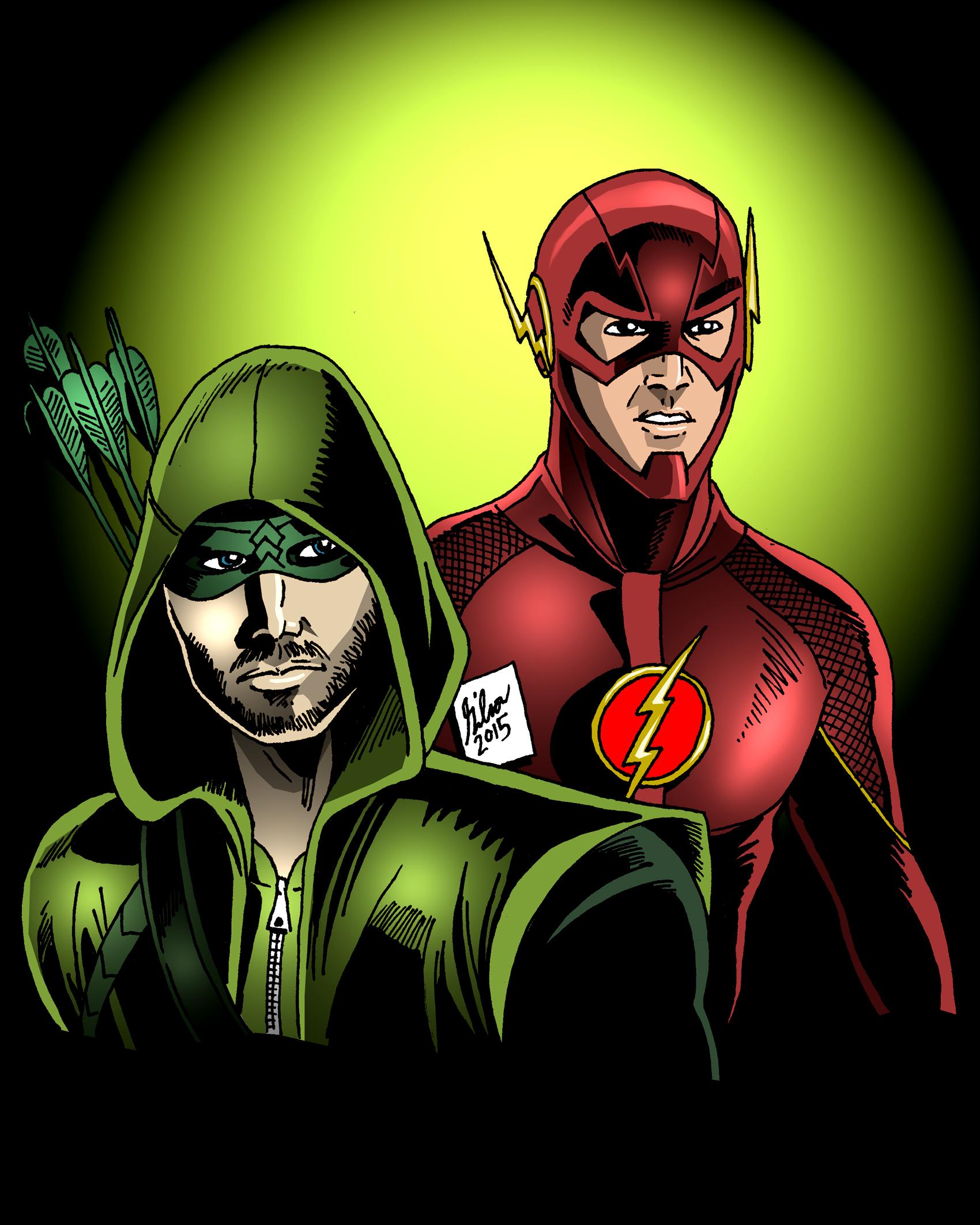 Arrow and Flash