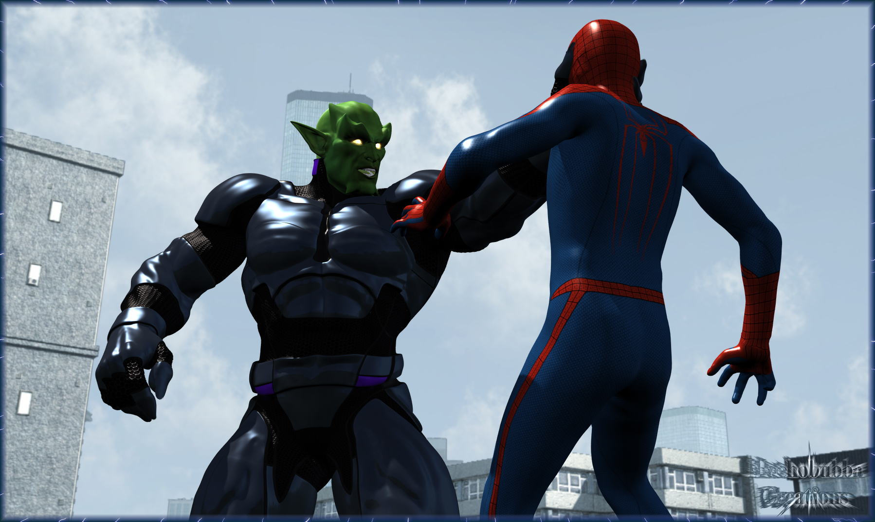 Ultimate Goblin Vs Spidey!!!
