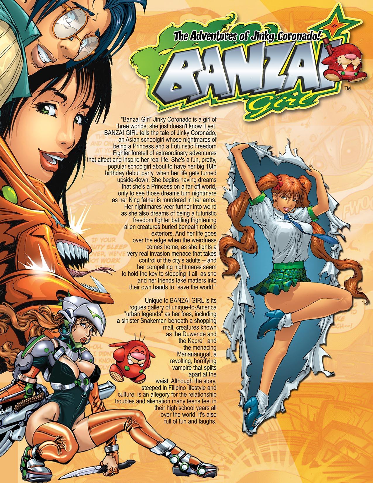 BANZAI GIRL: Promo Graphic
