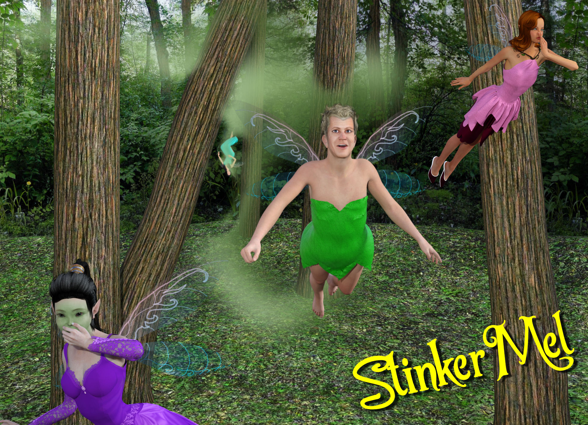 Bad Casting 3: Mel Gibson as Tinker Bell