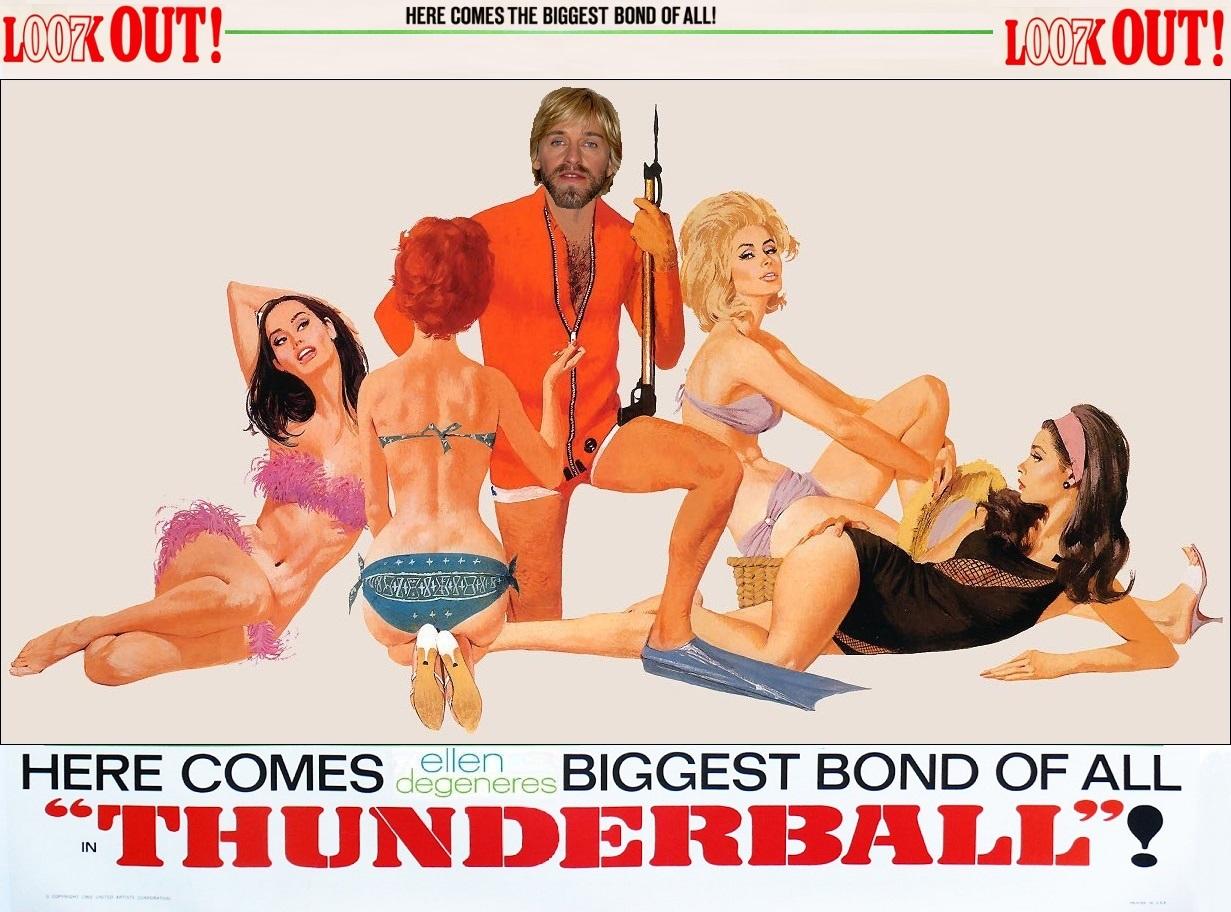 "BAD Casting - 007 James Bond - ""Thunderball"""