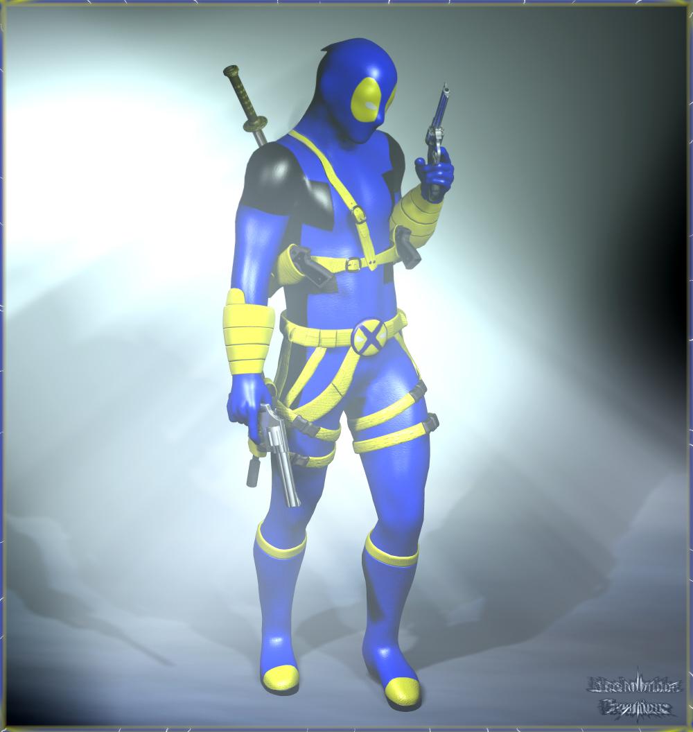 Deadpool X-Men Style!