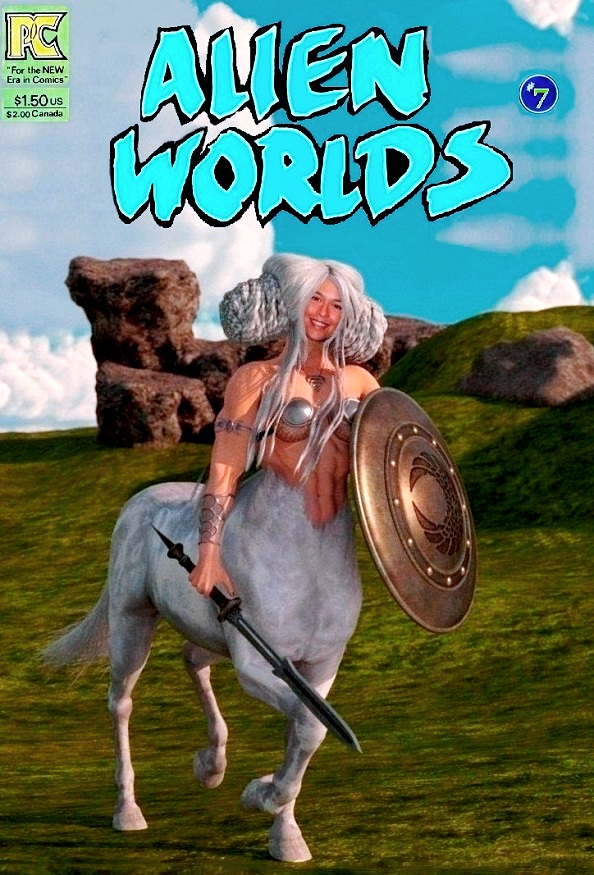 "Alien Worlds #7 ""The Plains of Alpha Centari"""