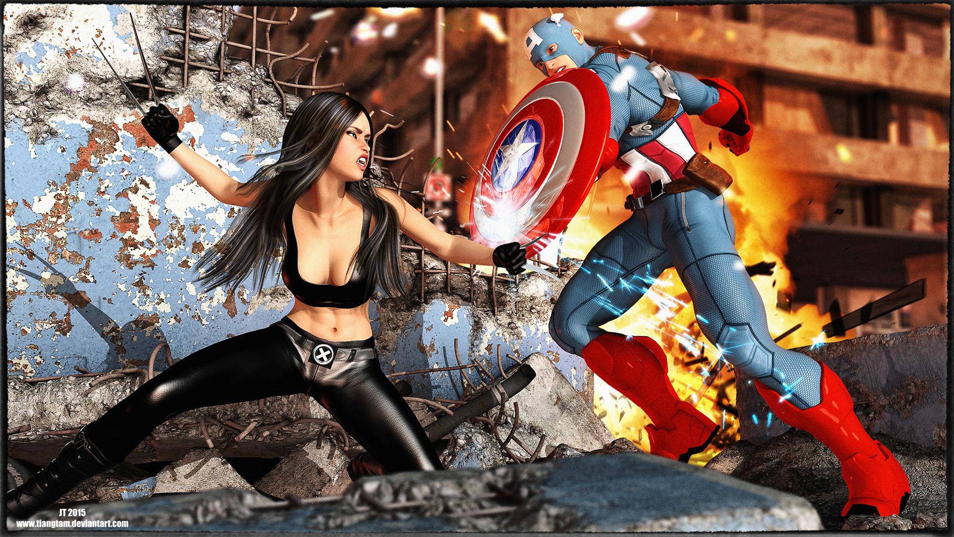 Cap vs X23
