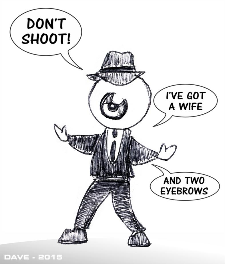 Strippen' - 2015: Don't Shoot!