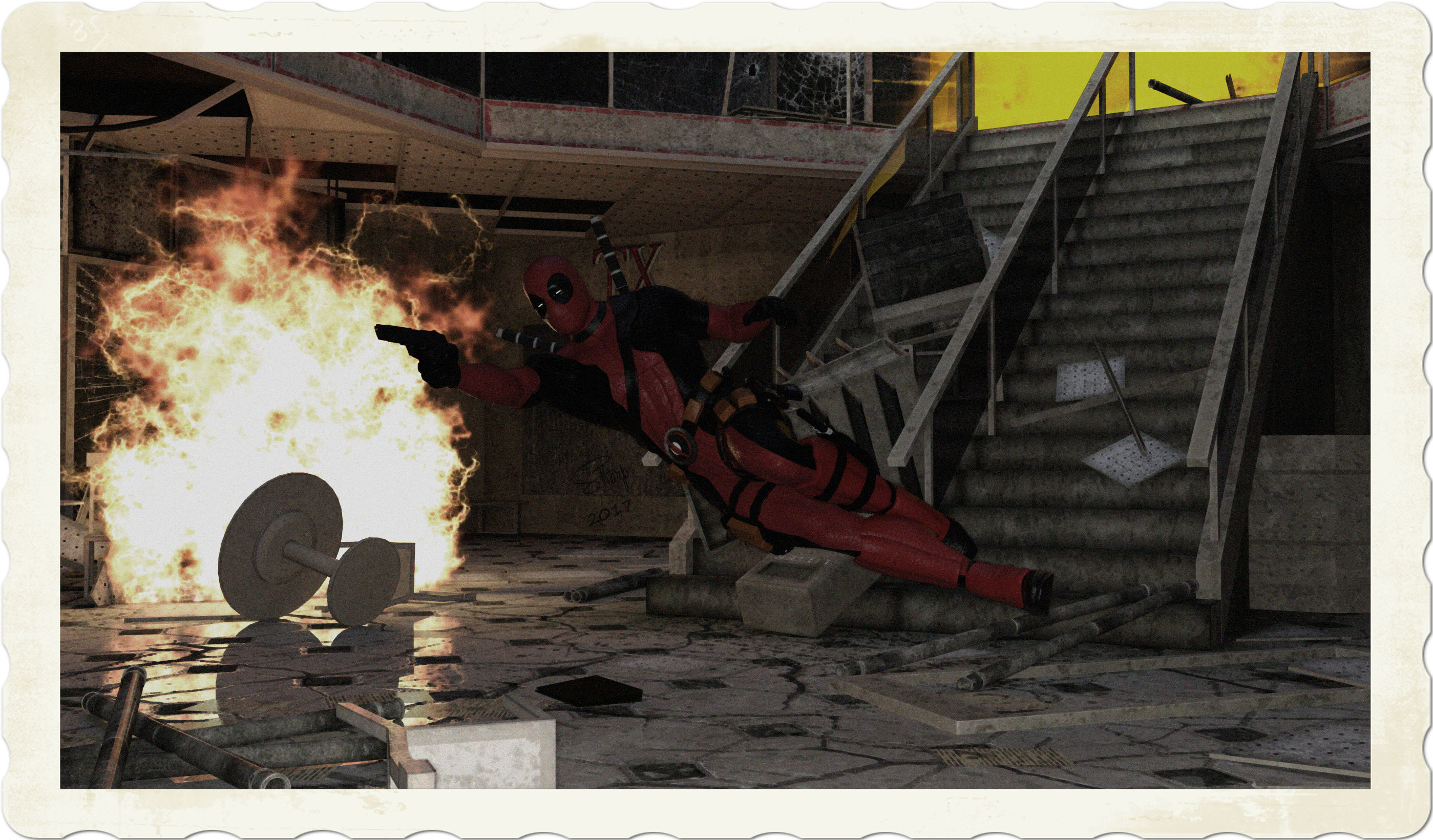 Deadpool Shootout