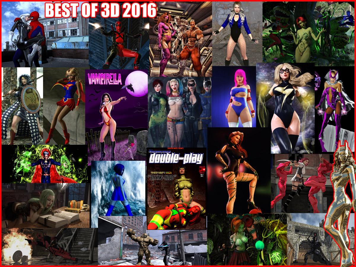 Best of 3D - 2016