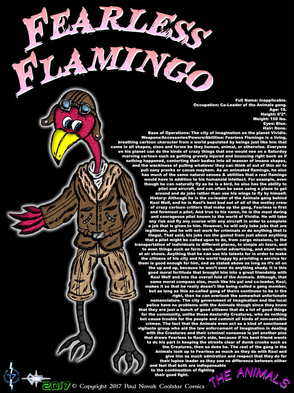 Fearless Flamingo