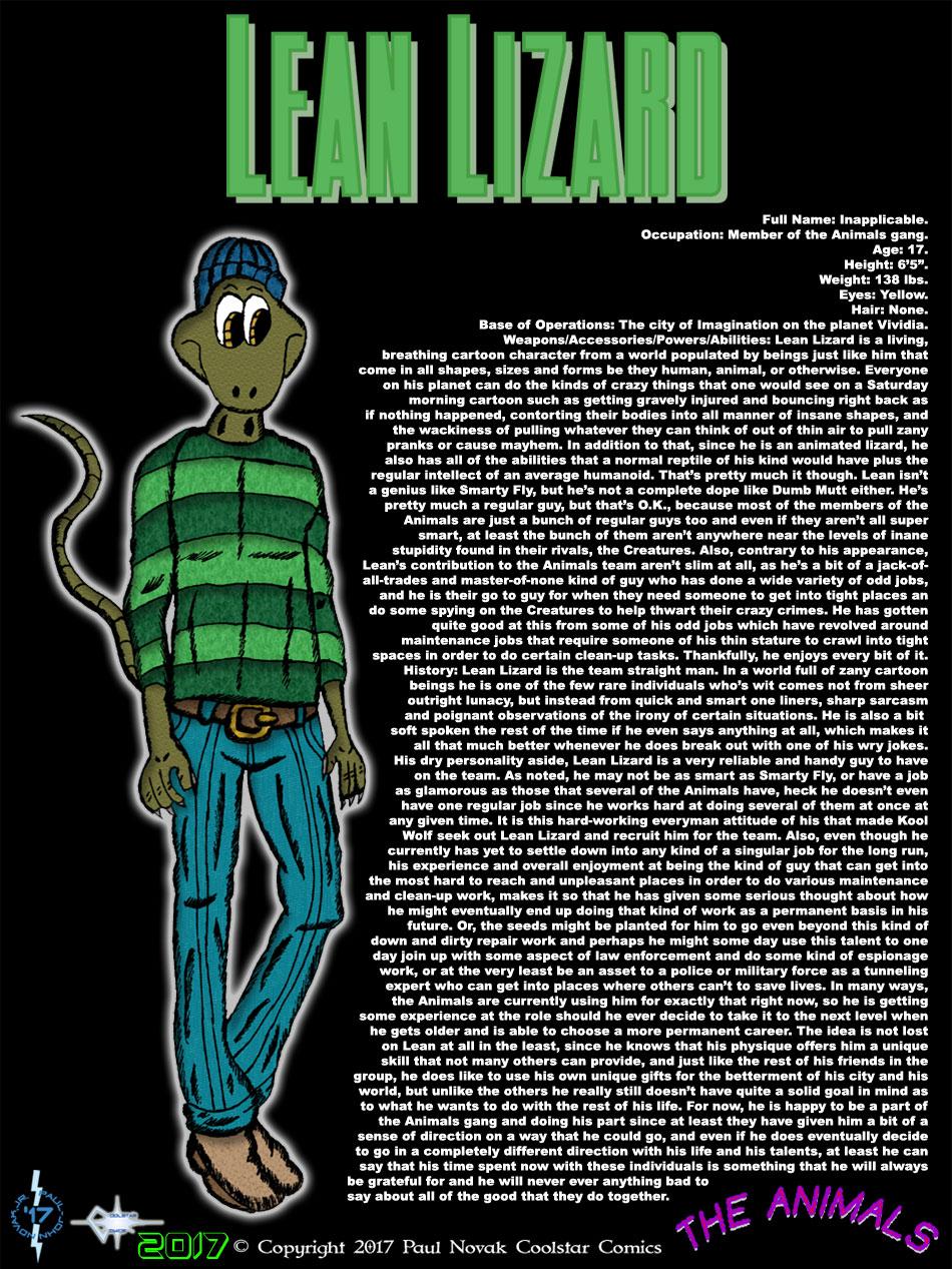 Lean Lizard