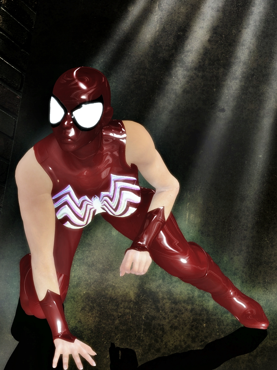 RED SPIDER WOMAN