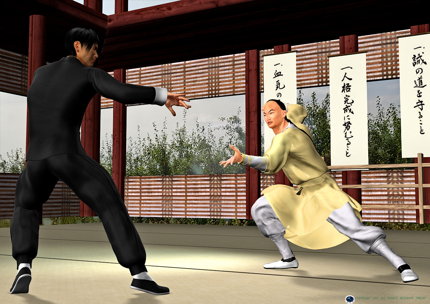 chen zhen vs wong fei hung