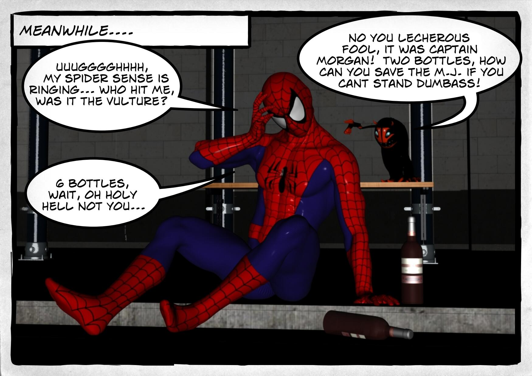 spidey woke up