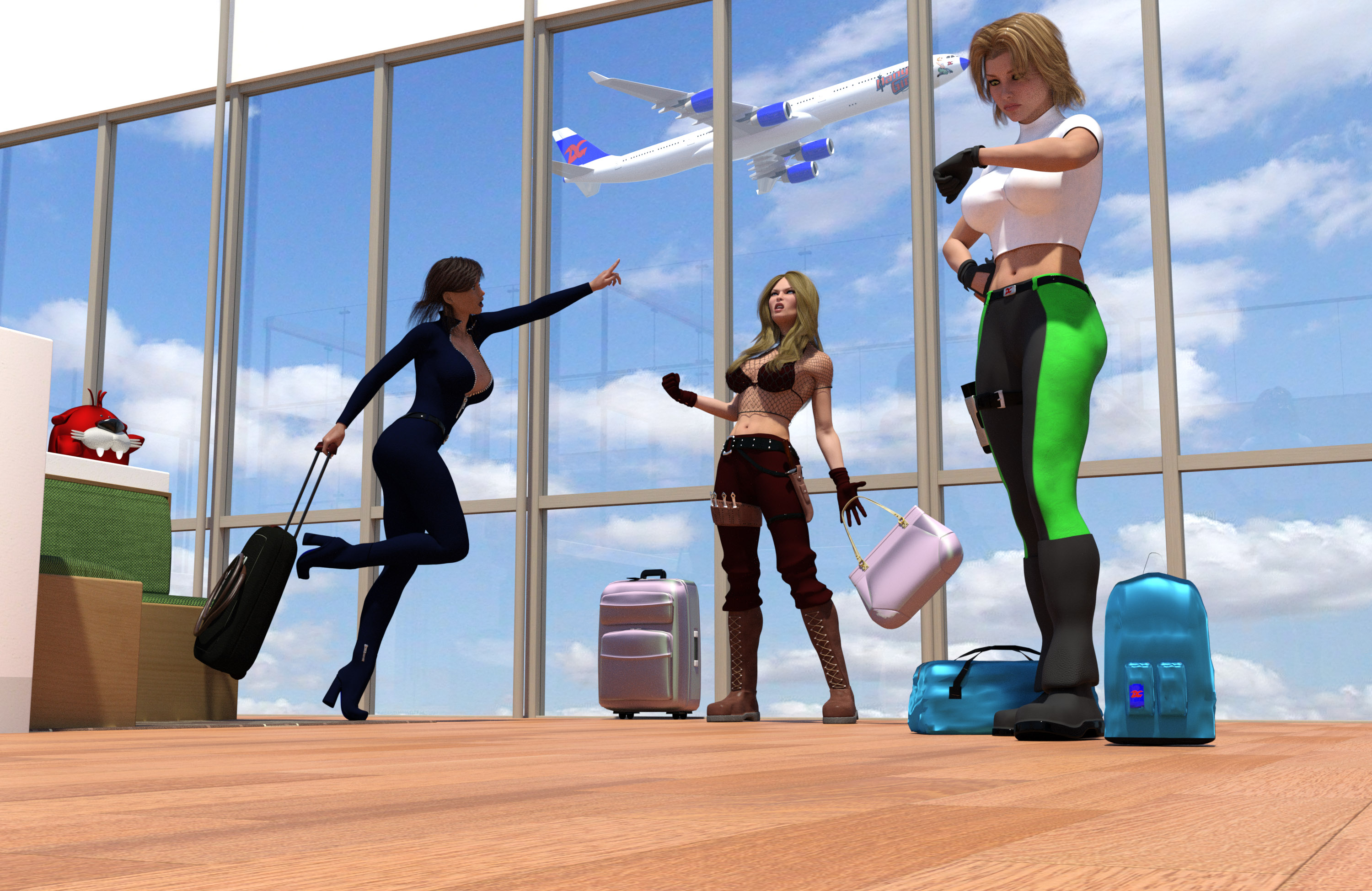 Heroes Out of Time: You're in DANGER, Girls...
