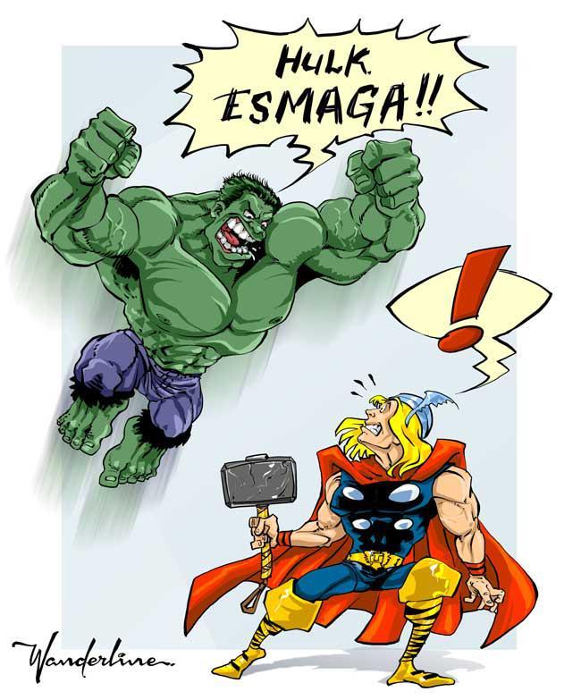 Hulk & Thor