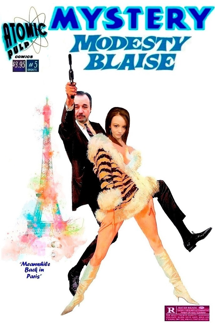 Mystery: Modesty Blaise #5