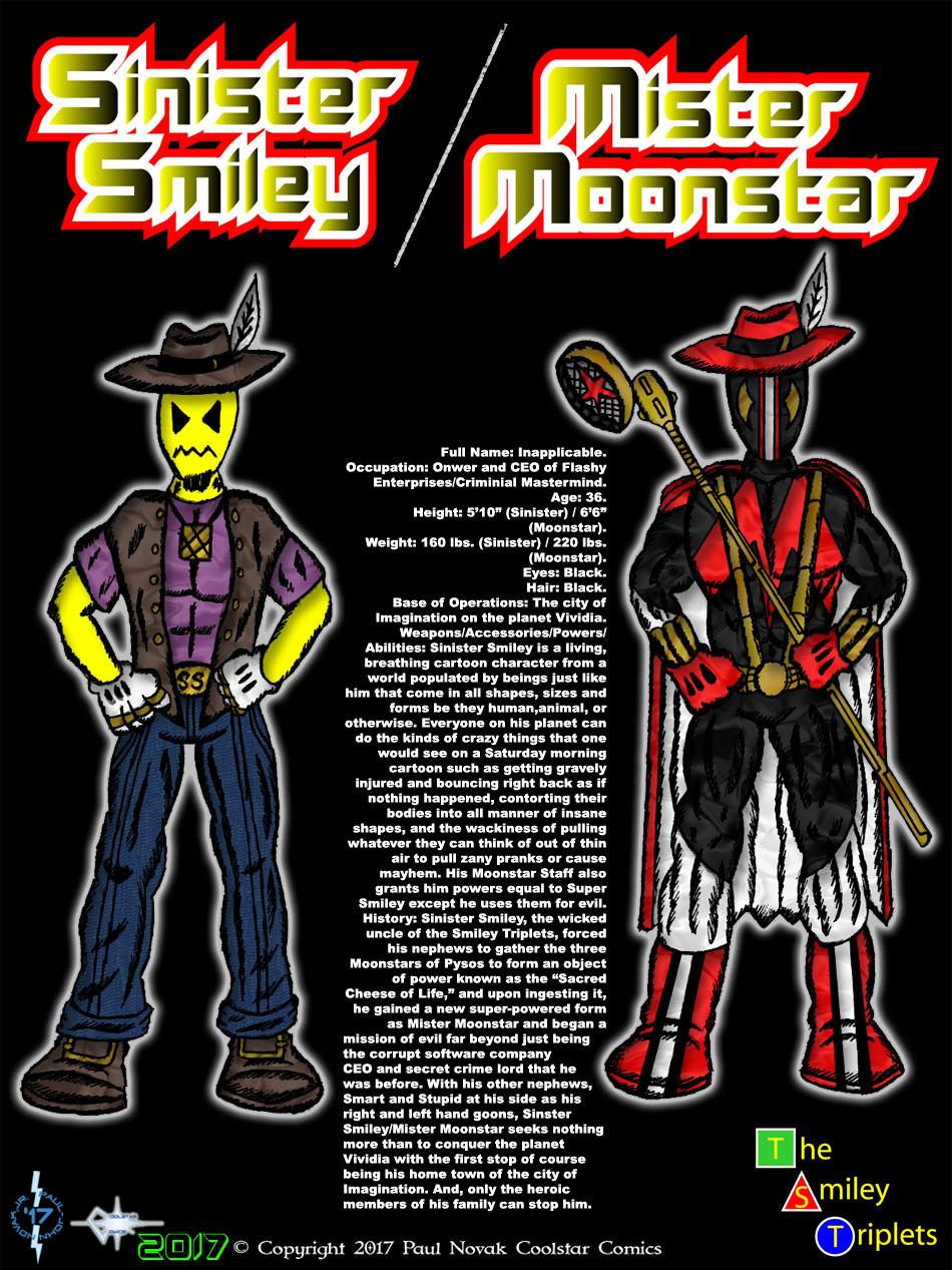 Sinister Smiley/Mr. Moonstar
