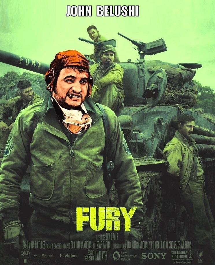 """DDNN John Belushi  in """"Fury"""""""