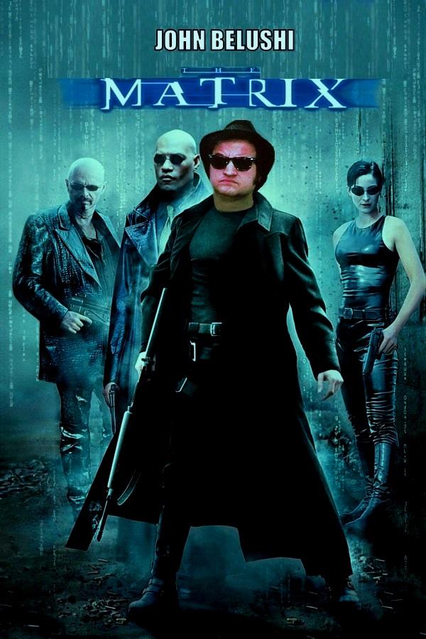 """DDNN John Belushi in """"The Matrix"""""""