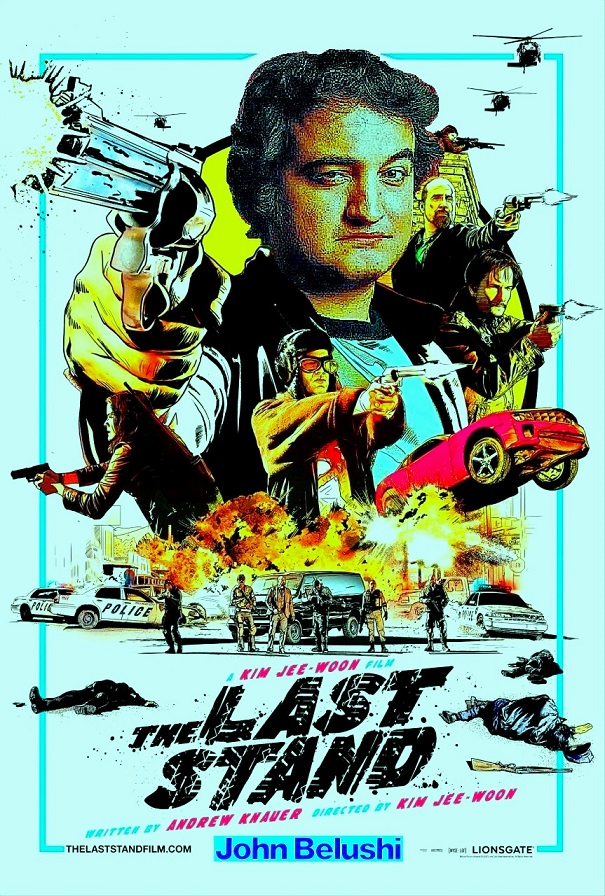 "DDNN John Belushi in ""The Last Stand"""