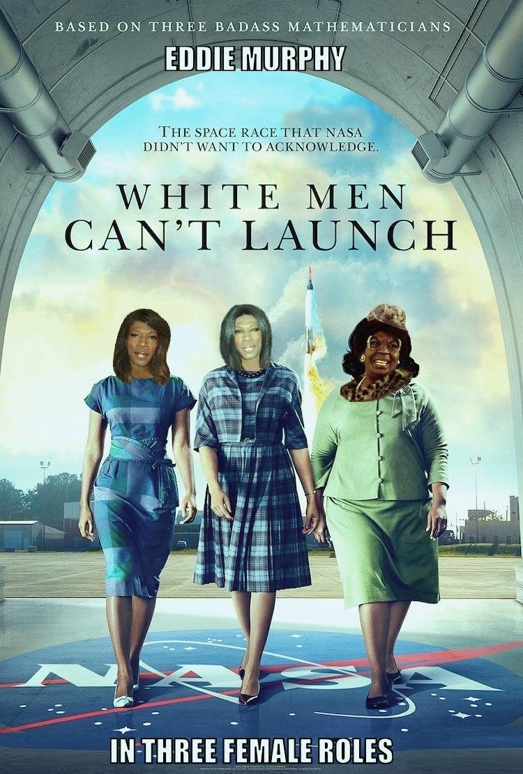 """DDNN Eddie Murphy in """"White Men Can't Launch"""""""